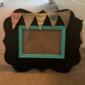 4x6 decorated photo frame